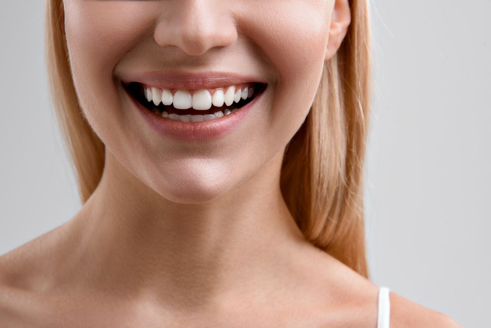 a bright, healthy smile